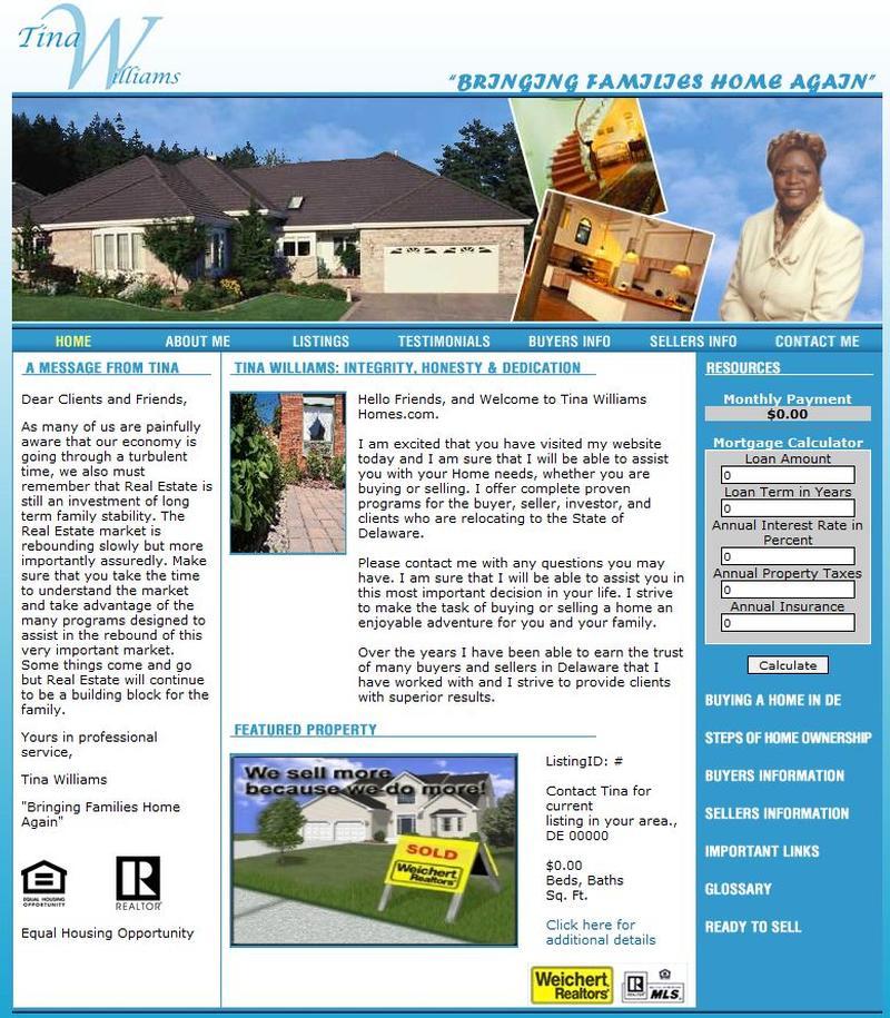 Tina Williams Homes