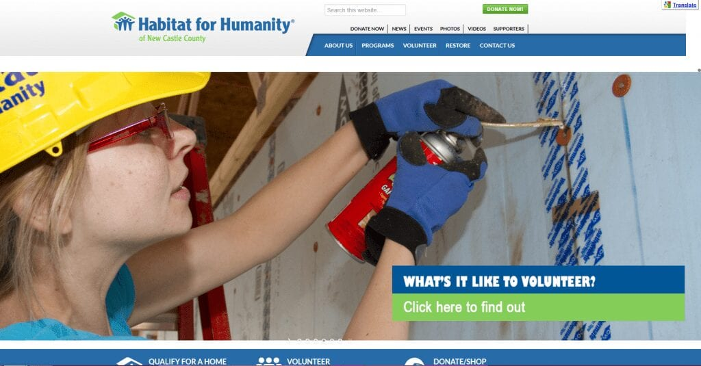 Habitat for Humanity, New Castle County