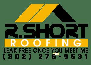 Logo Design: R. Short Roofing (yellow)