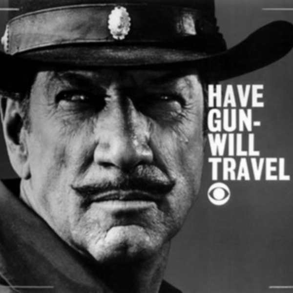 Figure 2: Have Gun - Will Travel (1957-1963) TV series starring Richard Boone as Paladin