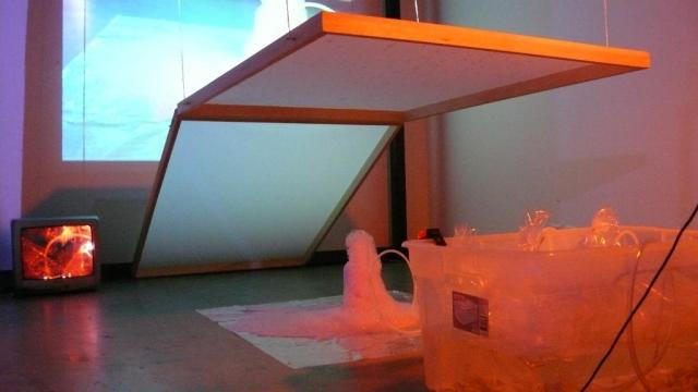 Image 07, The Bubble Project (Detail), Project X Installation Series, Naccarato, Montreal, QC, 2007