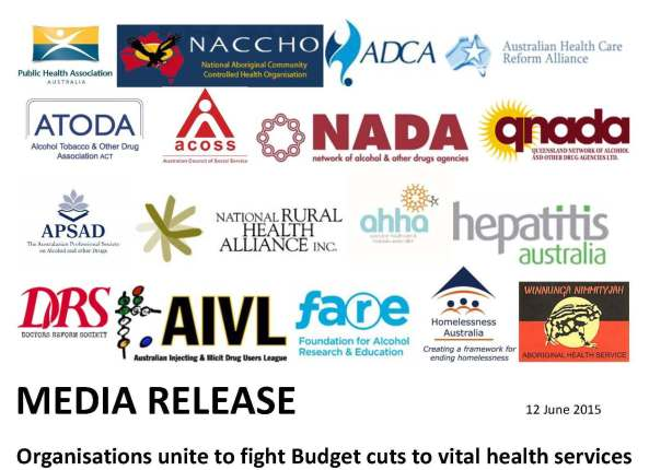 150612_MEDIA RELEASE-Organisations unite to fight Budget cuts to vital health services FINAL 2_Page_1