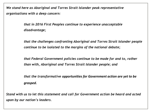 Redfern Statement