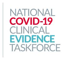 National COVID-19 Clinical Evidence Taskforce logo