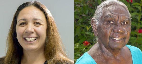 NT 2021 Australian of the Year nominees Dorrelle Anderson & Dr Miriam-Rose Ungunmerr Baumann AM
