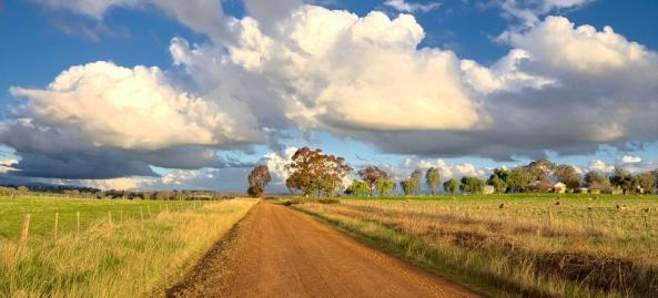 country unsealed road