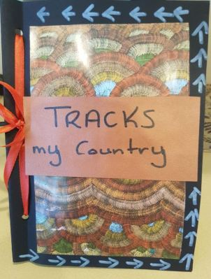 photo of Storytime book called 'Tracks my Country' created by parents in prison for their children