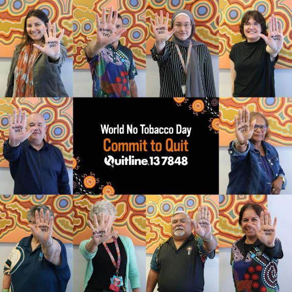 World No Tobacco Day campaign