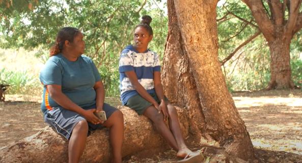 Grog in Pregnancy - Partners: video by Katherine West Health Board.