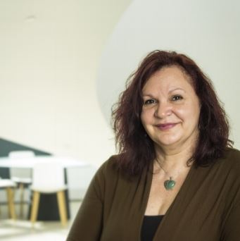portrait of Dr Yvonne Clark from Uni of Adelaide