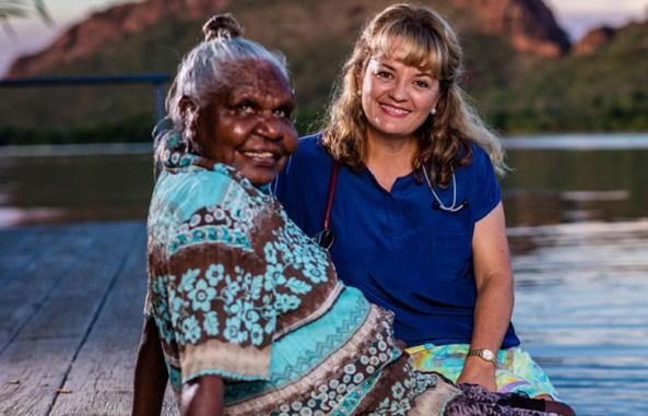 Dr Catherine Engelke. Image credit: The Australian Indigenous Doctors' Association.