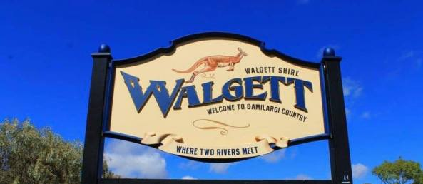 Walgett, 300km inland from Dubbo with an Indigenous population of 40 per cent. Image source: National Indigenous Times.