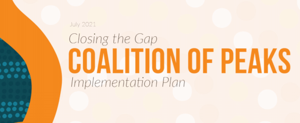 Coalition of Peaks - 2021 Implementation Plan