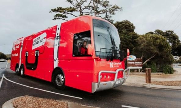 Big Red Kidney Bus