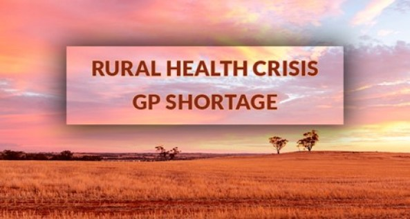 Rural Health Crisis, GP Shortages. Image source: Alecto Recruitment.