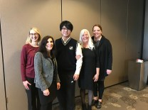 PSP student Wanqianq spoke at our Local Rep Training Conference in March!