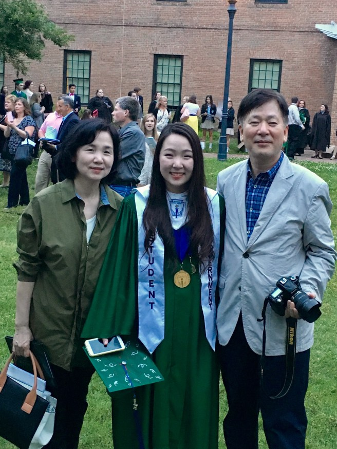 Sohyun Kwon's graduation from St. Mary's Ryken 4