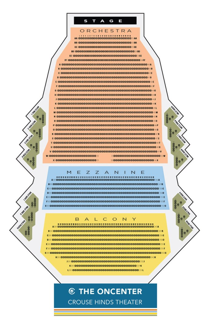 Crouse Hinds Theater Syracuse Ny Seating Chart Www