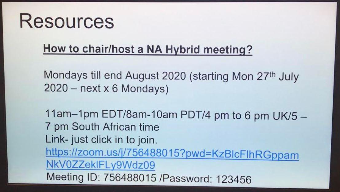 How to host hybrid meetings