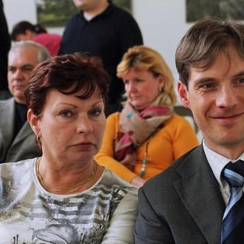 Zdeněk s maminkou