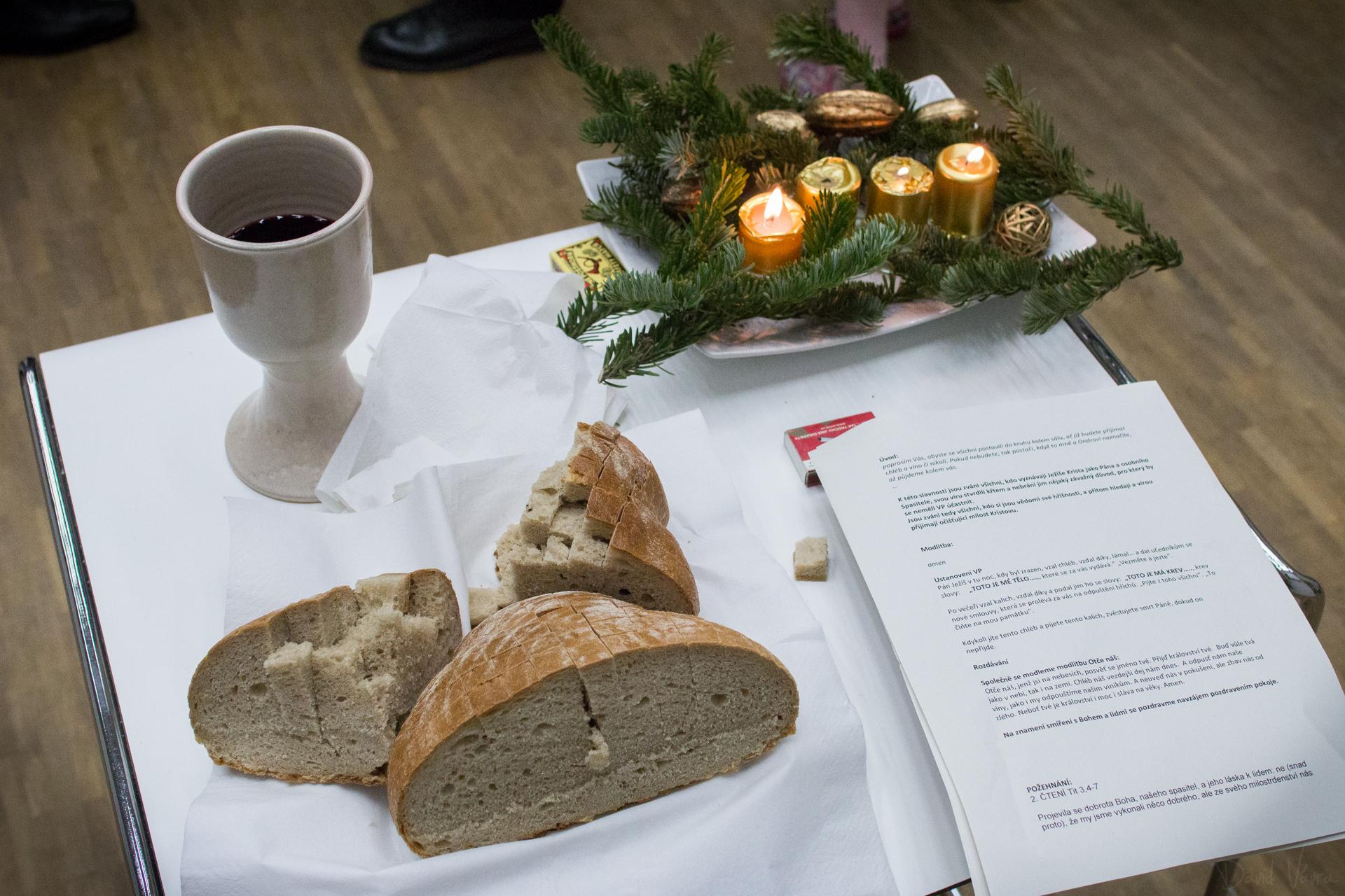 Vánoční bohoslužba Na Cestě Brno
