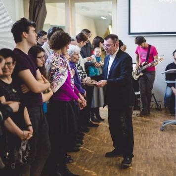 Bohoslužba s požehnáním Viléma Krejčího | Společenství CB Na Cestě Brno