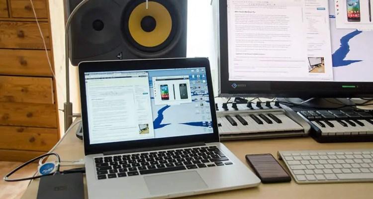 MacBook Pro im Büro