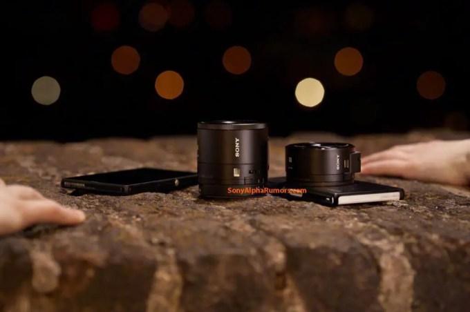 Sony-DSC-QX100 und DSC-QX10 (Fotos: sonyalpharumors.com)
