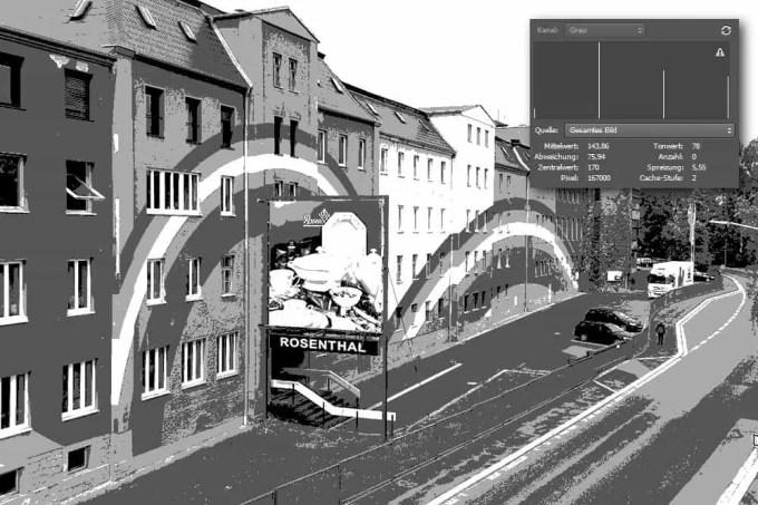 2-Bit Foto mit 4 Helligkeitswerten