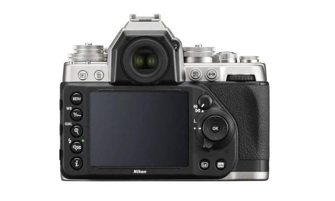 Die Rückseite der Nikon Df