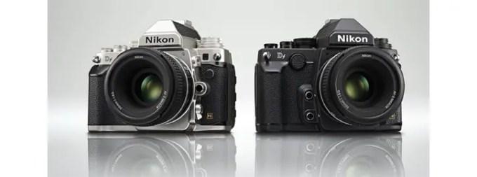 Nikon Df in Silber und Schwarz