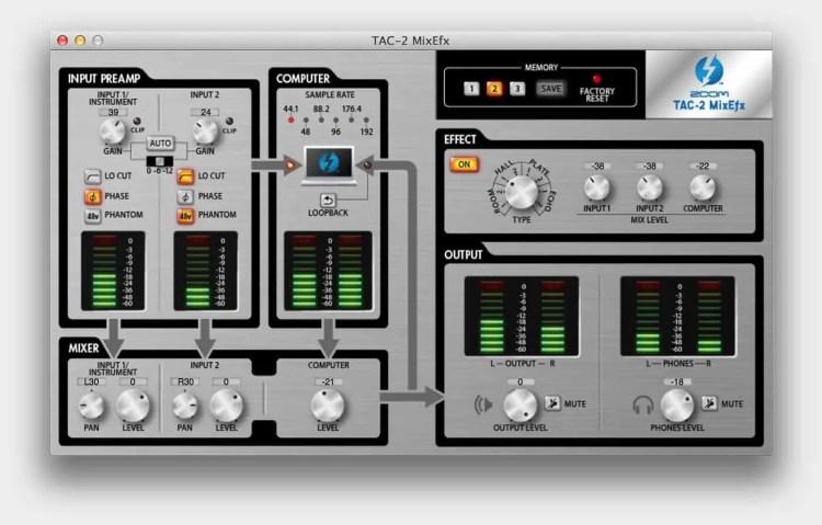 TAC-2 MixEfx