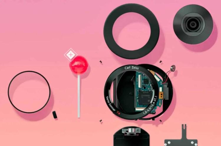 Sony QX100 mit Lolly
