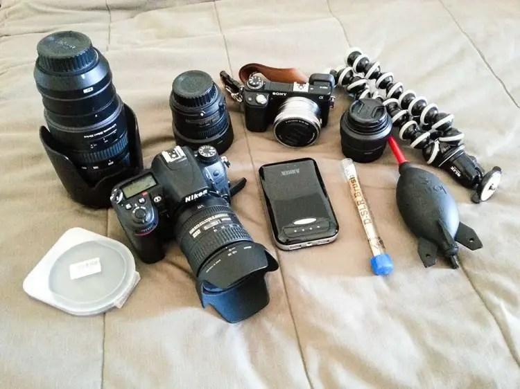 Meine Fotoausrüstung auf Kos