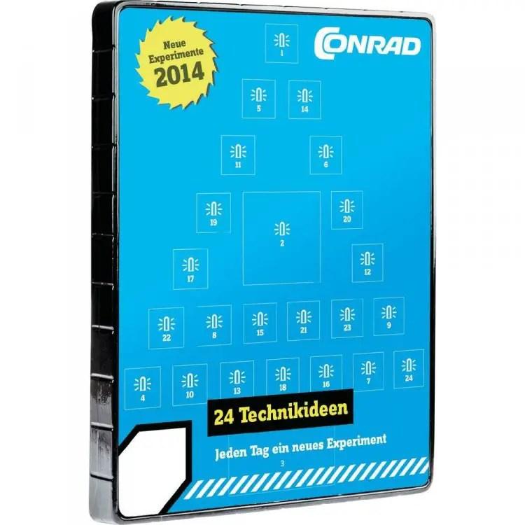 Der Elektronik-Adventskalender von Conrad