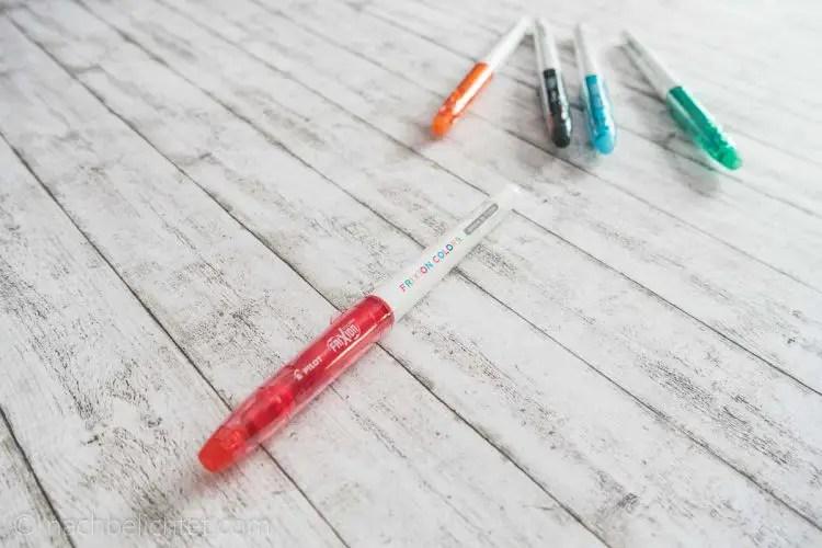 Pilot-Pen-Frixion-Colors