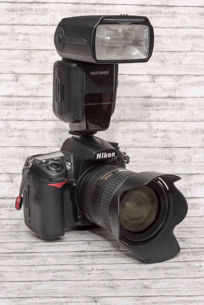 Neewer NW565ex auf der Nikon D7000