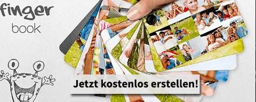 Fingerbook - Das Größte, was Deinen Fotos passieren konnte!
