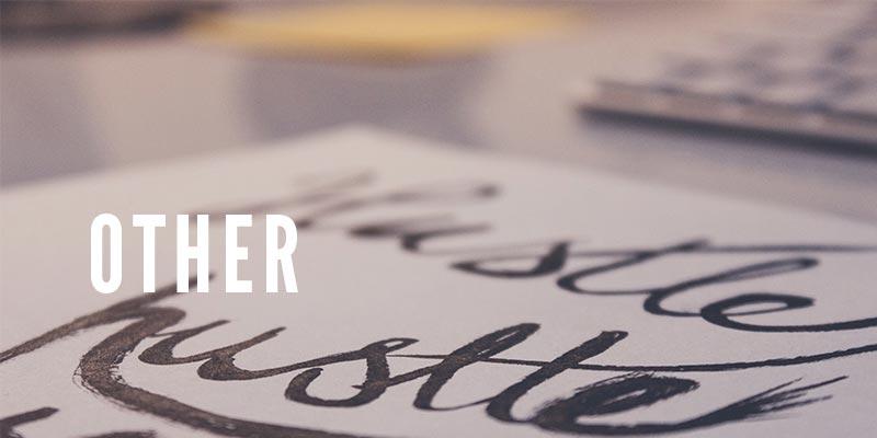 Side Hustles | nachesnow.com