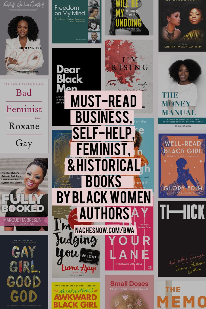 Must-Read Business, Self-Help, Feminist, and Historical Books by Black Women Authors