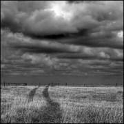Die dunklen Wolken des Leids
