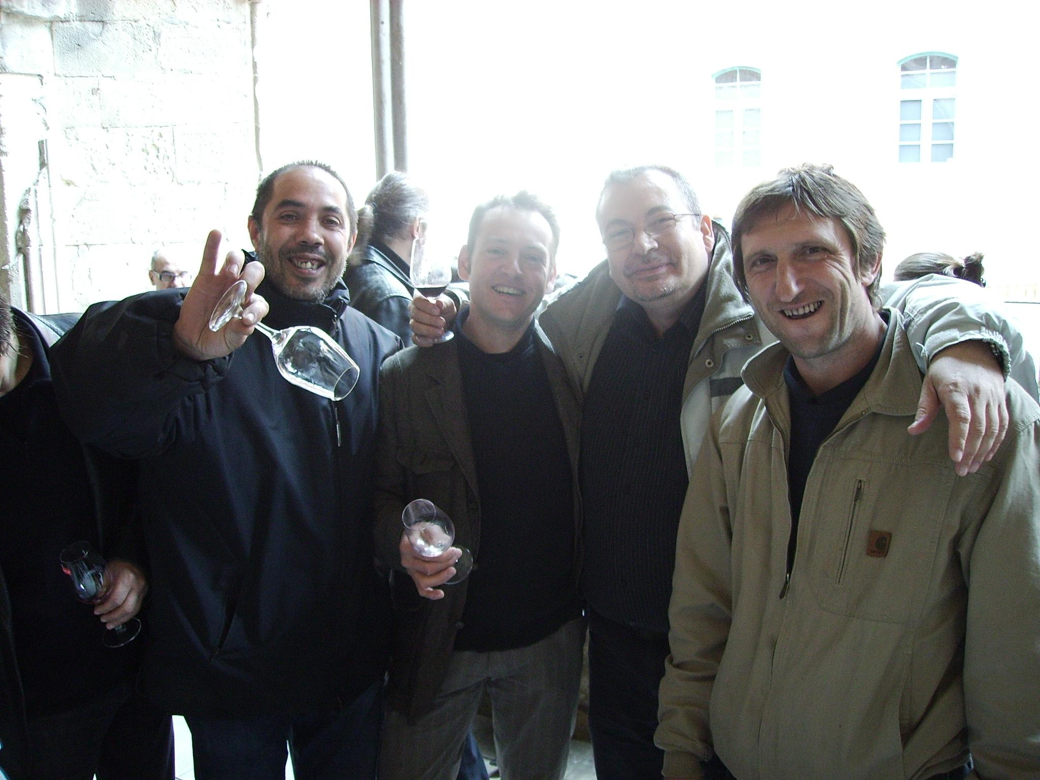 Laureano a la izquierda de la imagen y Thierry a la derecha