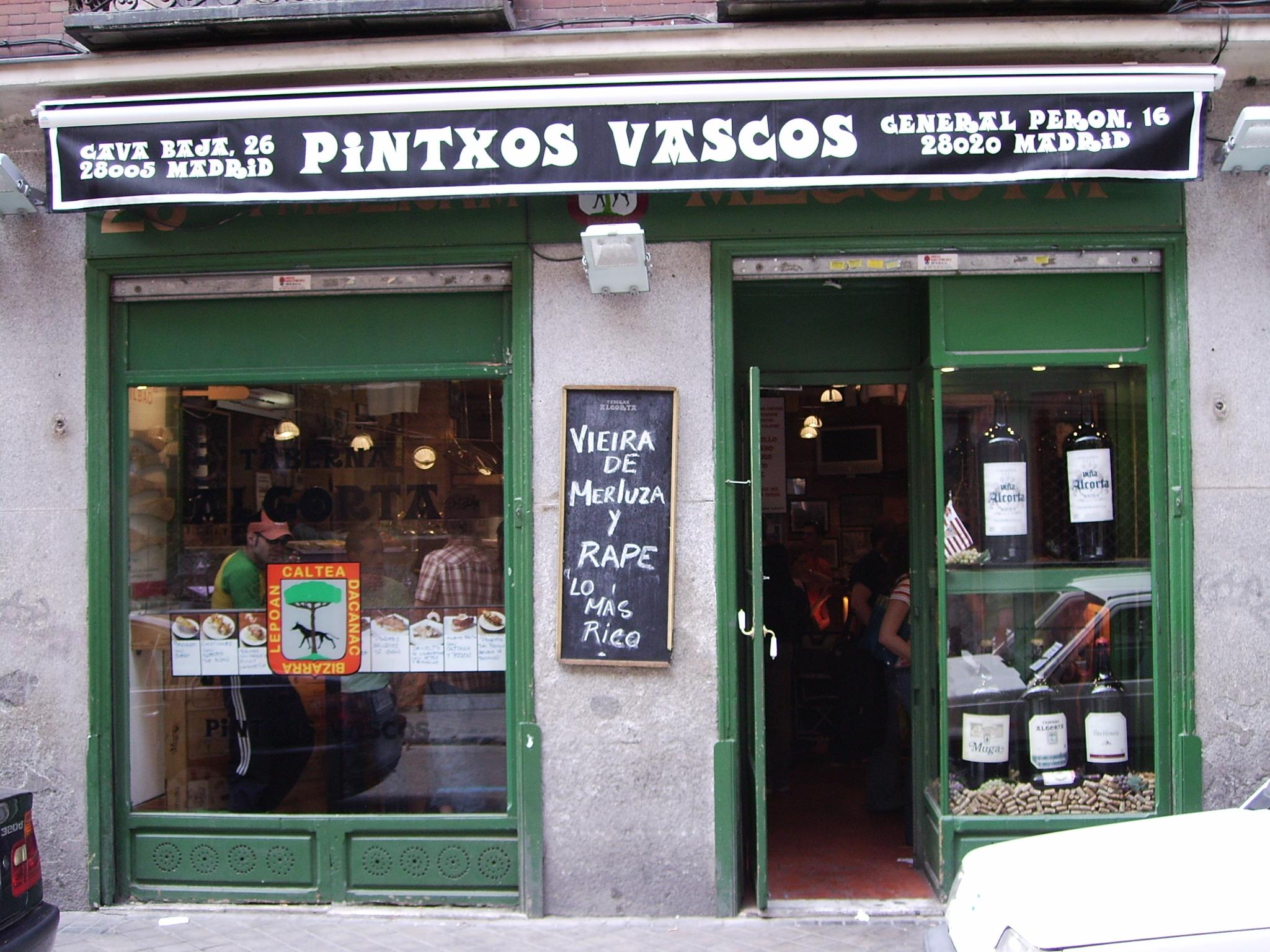 Pintxos Vascos