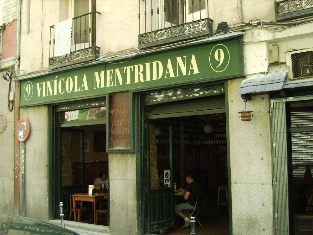 Tabernas de vinos por el centro de Madrid (1/6)
