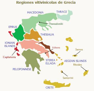 Grecia, cuna del vino en Europa (2/2)
