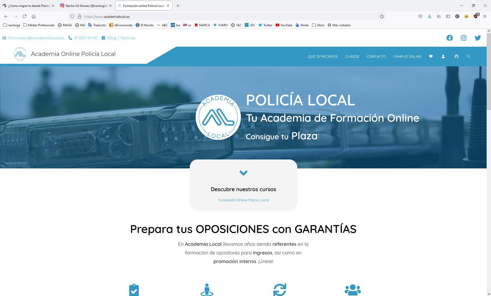 Web Academia Local