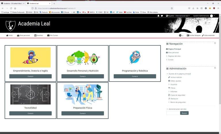Plataforma Aprendizaje CD Lealtad Villaviciosa