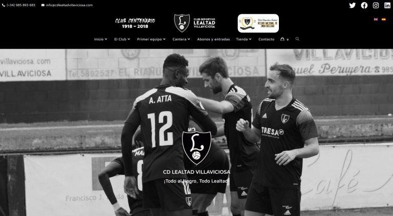 Web Club Deportivo Lealtad Villaviciosa