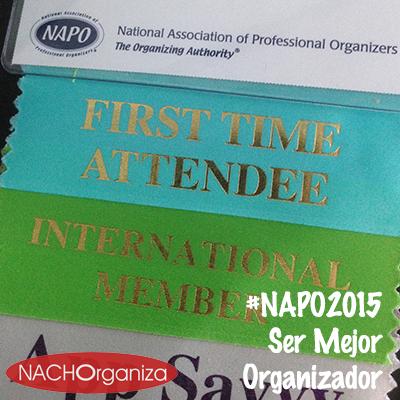 #NAPO2015 Ser Mejor Organizador