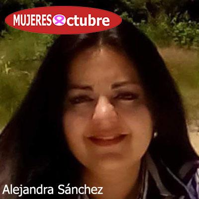 Mujeres De Octubre. Alejandra Sánchez